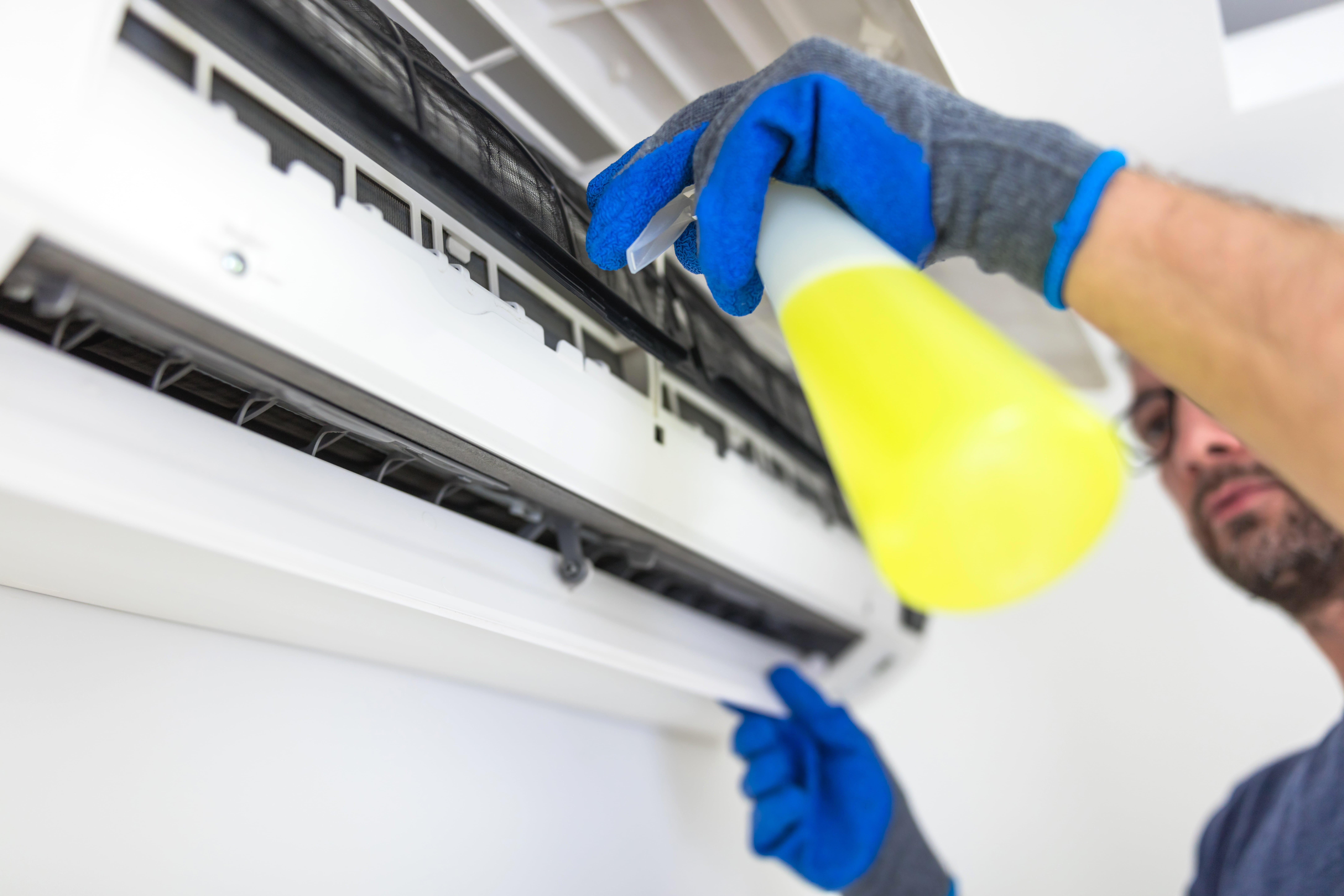 Nettoyage professionnel climatisation