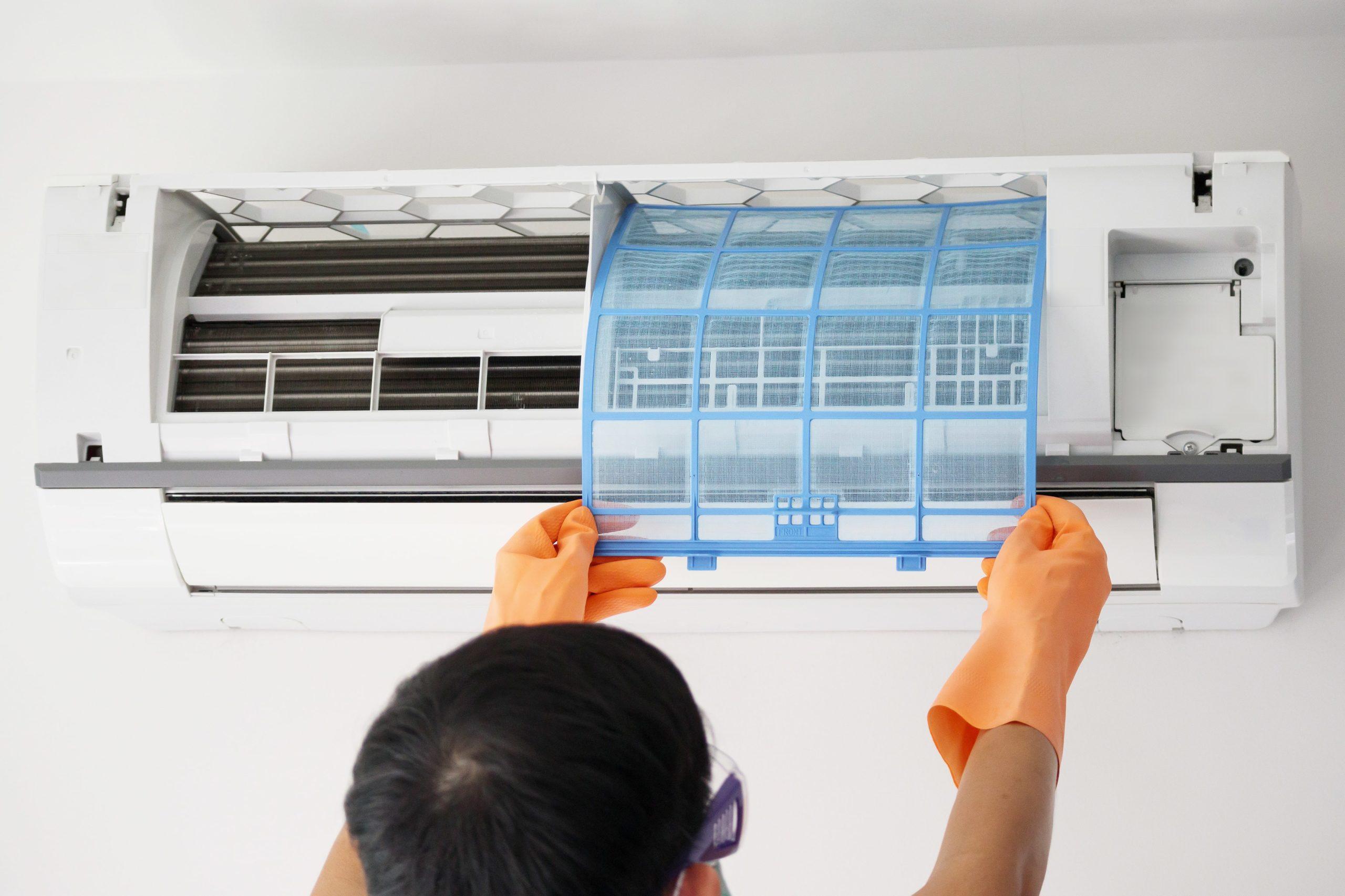 Professionnel pour nettoyage climatisation